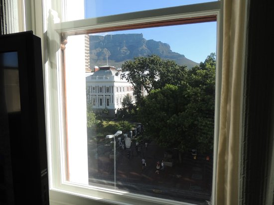 Taj Cape Town: Table Mountain view