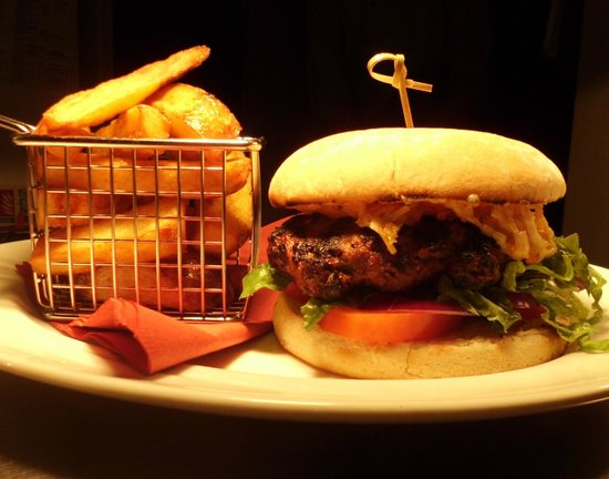Bony's Steakhouse & Grill: One of our famous Bony Burgers!