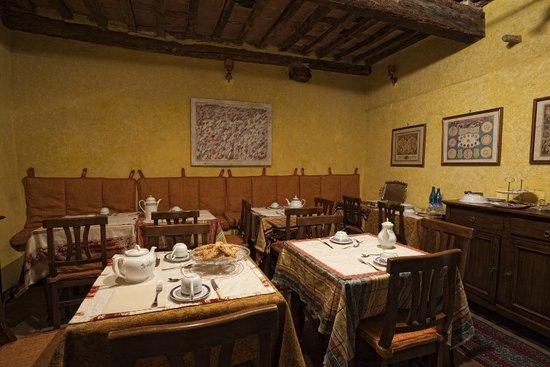 La Locanda di Montisi: sala breakfast