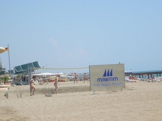 Maritim Pine Beach Resort: The Private Beach