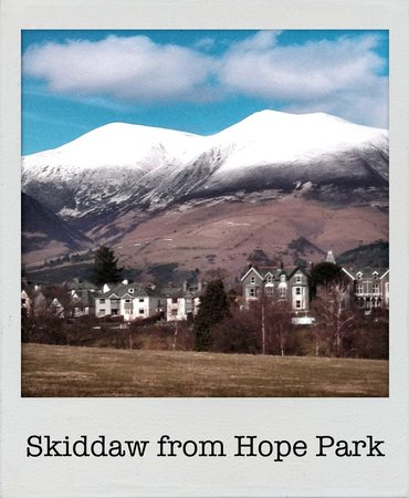 Avondale Guest House: Skiddaw from Hope Park