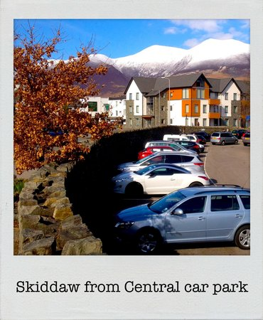 Avondale Guest House: Skiddaw from car park