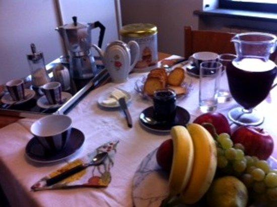 B&B Galleria Turchi: breakfast
