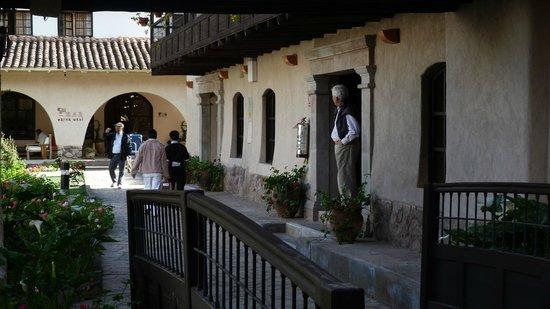 Sonesta Posadas del Inca Yucay: En la puerta de la habitación