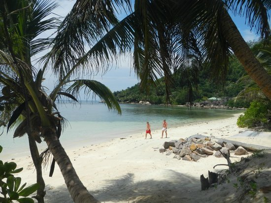 Kempinski Seychelles Resort: Sitting on my Beach Chair