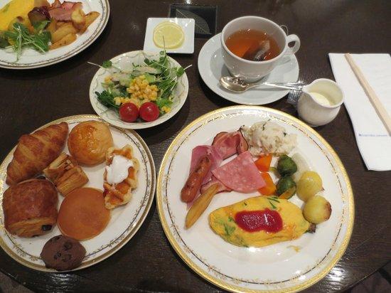 โรงแรมนิกโก้ปริ๊นเซส เกียวโต: 朝食のバイキング