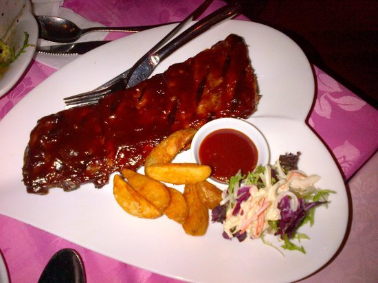 Dimpal Fusion Restaurant and Bar: Ribs