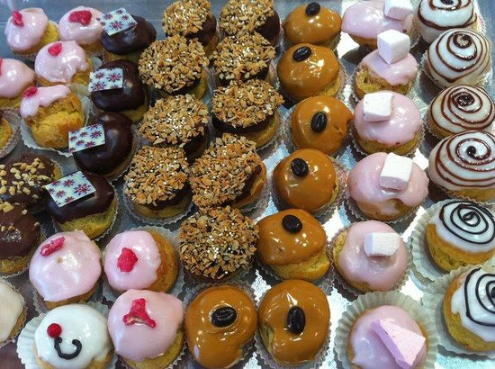 Boulangerie Rose: Les choux garnis