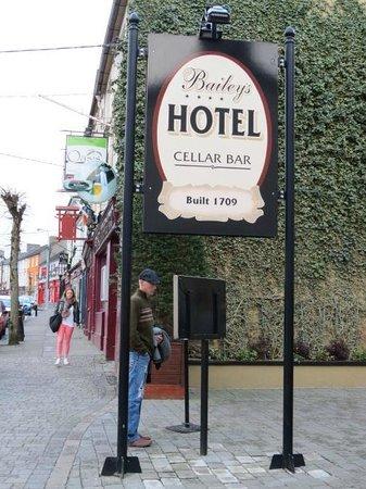 Baileys Hotel Cashel : The Hotel