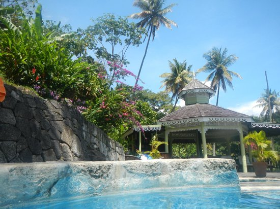 Fond Doux Plantation & Resort: View from one of the pools
