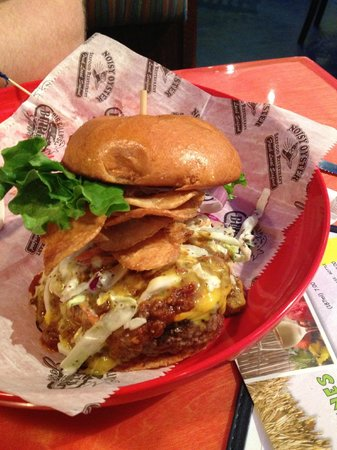 Big Billys Burger Joint: Big Billy's Build your own berger