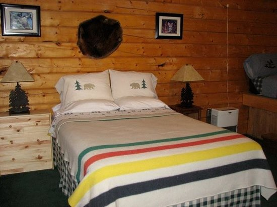 Denali Highway Cabins: Cabins are well-appointed and inviting