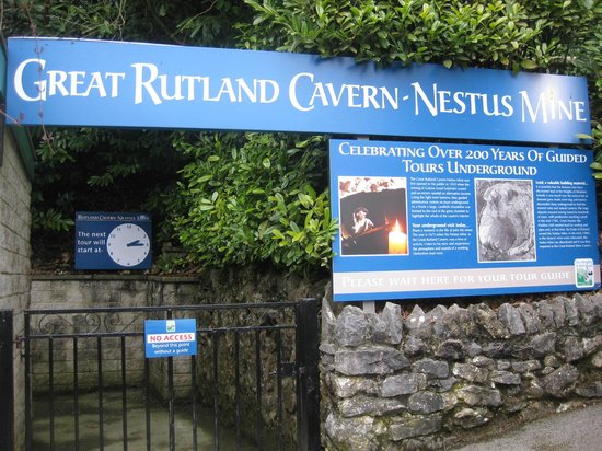 Heights of Abraham: Great Rutland Cavern