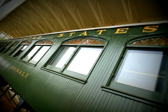 Pioneer Park: vagone ferrovia