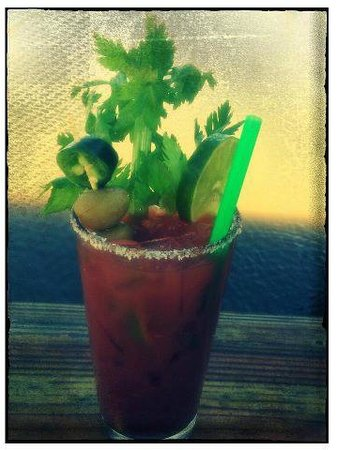 """Stumpy's Lakeside Grill: """"House Tito's Bloody Mary"""""""