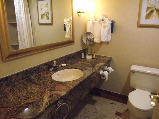 DoubleTree by Hilton Hotel Fort Lee - George Washington Bridge: bathroom 1