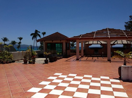 Boracay Beach Club: Roof deck. This is not really used by guests.