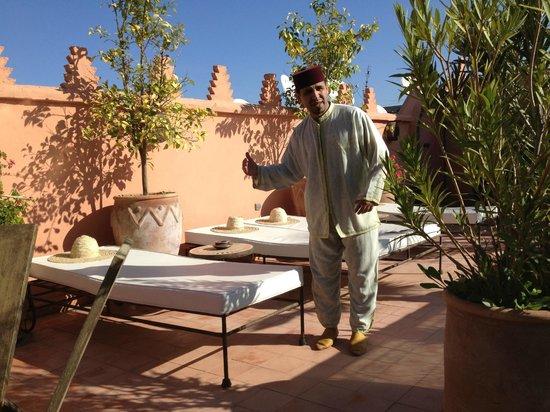 Riad Les Nuits de Marrakech: la terrazza