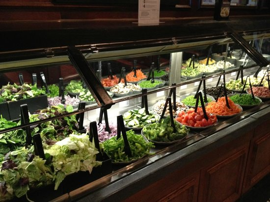salad bar another view picture of ruby tuesday roseville