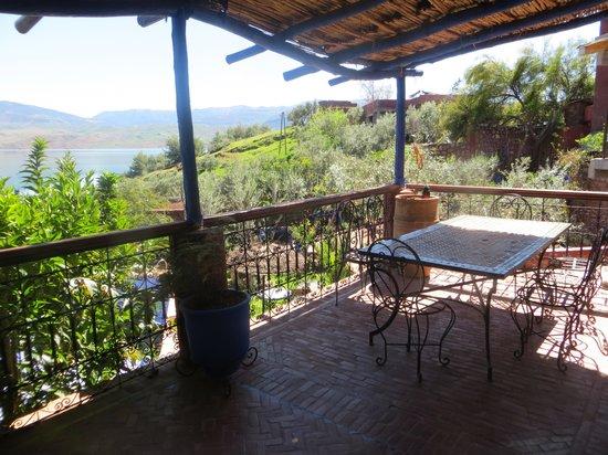Bine el Ouidane, Marruecos: Meine Terrasse