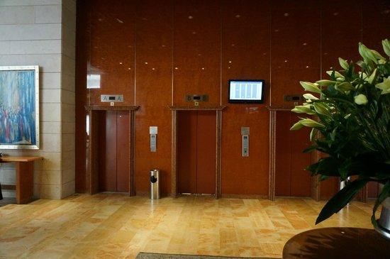 Leonardo Plaza Hotel Jerusalem: Соверменные лифты