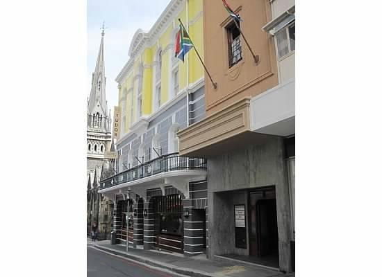 Tudor Hotel: street view
