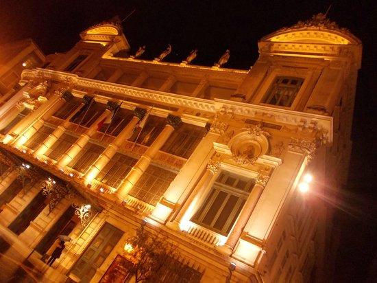 Opéra de Nice : opera de nice - esterno notte