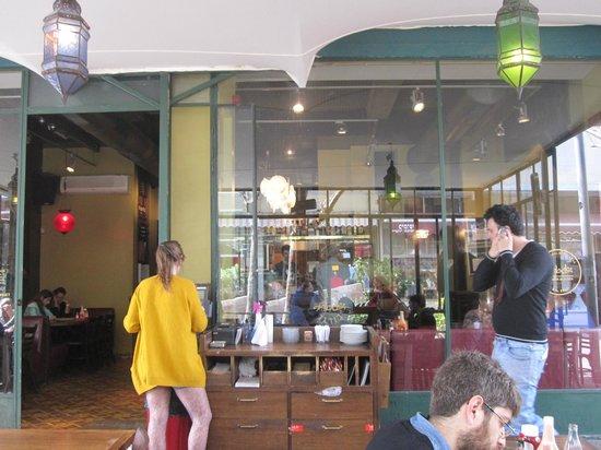 Agadir Burger: The restaurant.