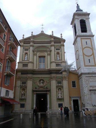 place rossetti - facciata della cattedrale di santa reparata