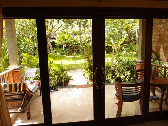 Bali Bhuana Beach Cottages: view from the room