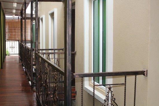 V'la Park Hotel : Zimmer im hinteren Teil des Gebäudes