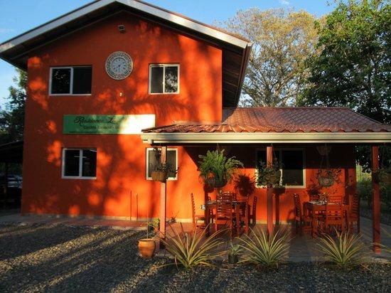 B&B  Residence Las Lajas: ristorante e reception
