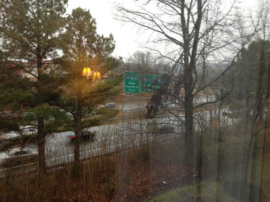 Hampton Inn Richmond Mechanicsville: View from the room