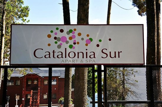 Catalonia Sur Aparts & Spa : entry to Catalonia Sur