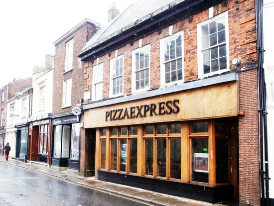 View From Across Church Road Picture Of Pizza Express