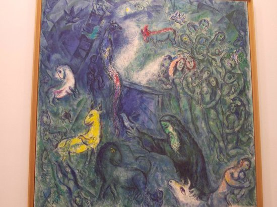 Musée Marc-Chagall (Nice) : musée national marc chagall - ciclo biblico 8