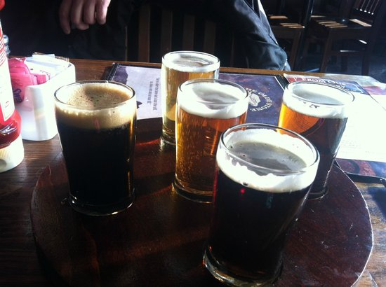 Olde Stone Brewing Co: Olde Stone Sampler - the perfect way to try all of their house ales.