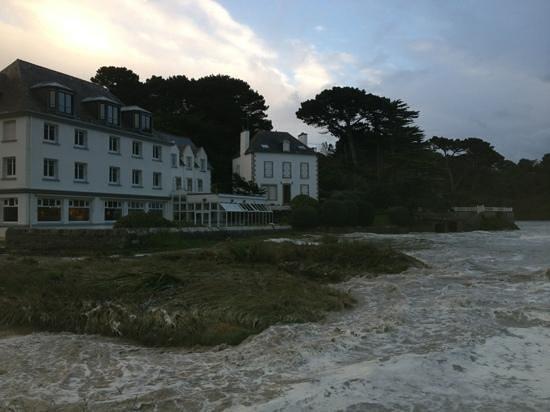 Hotel De La Plage : vue de la plage