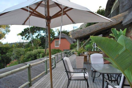 Ikhaya Safari Lodge: Breakfast area