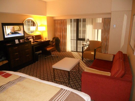 New York Marriott Marquis: Room 1742