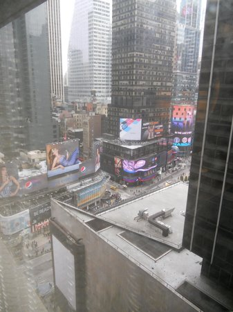 New York Marriott Marquis: View from Room 1742