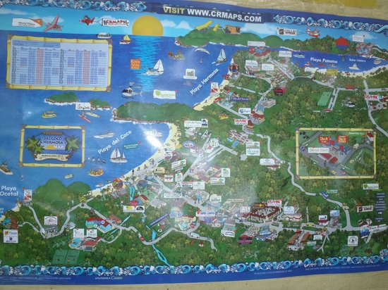 map playa hermosa costa rica May Of Part Of Costa Rica Picture Of Condovac La Costa Playa map playa hermosa costa rica