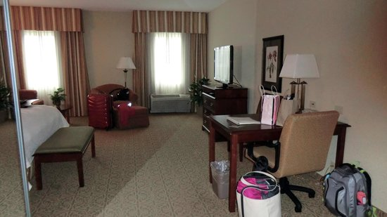 Hampton Inn Vicksburg : From the door