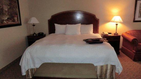Hampton Inn Vicksburg: Bed