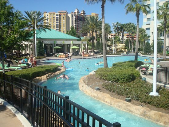 Hilton Orlando Bonnet Creek: The Lazy River