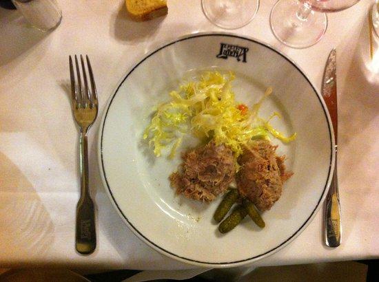 Rillette d 39 oie picture of le petit lutetia paris tripadvisor - Brasserie lutetia menu ...
