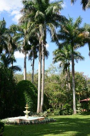 Hacienda Chichen: lush gardens