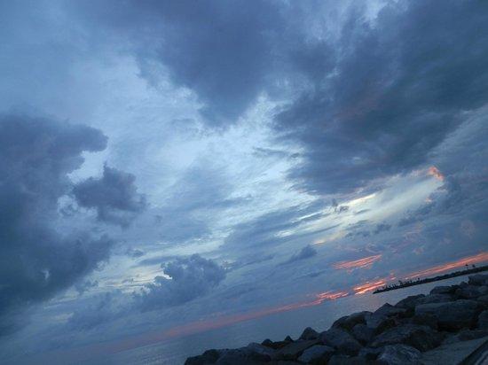 Humphris Park: Sunset