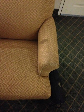 Quality Inn and Suites: Chair
