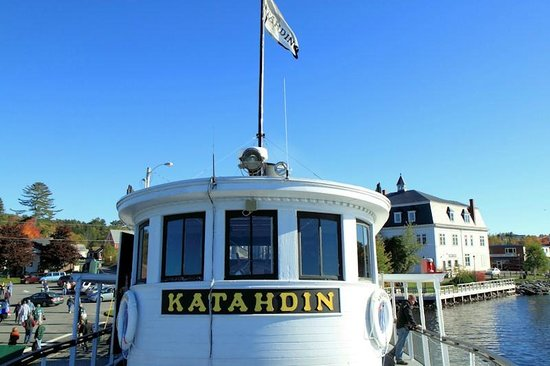Katahdin Cruises and Moosehead Marine Museum: The boat